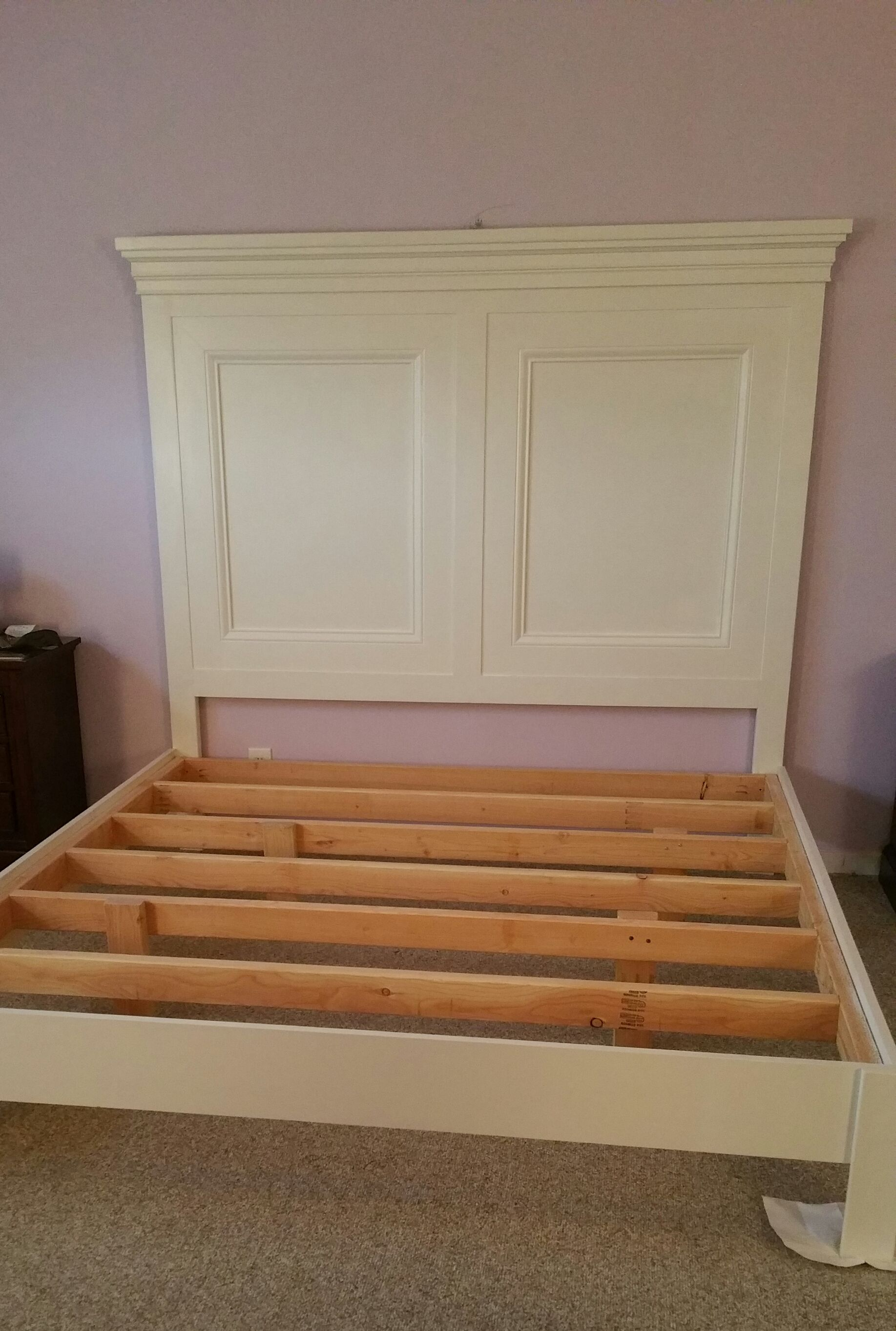 Tall Panel King Bed