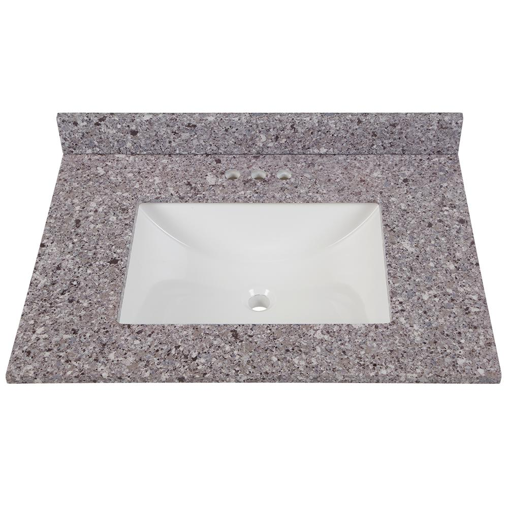 Home Decorators Collection 31 In W X 22 In D Stone Effects
