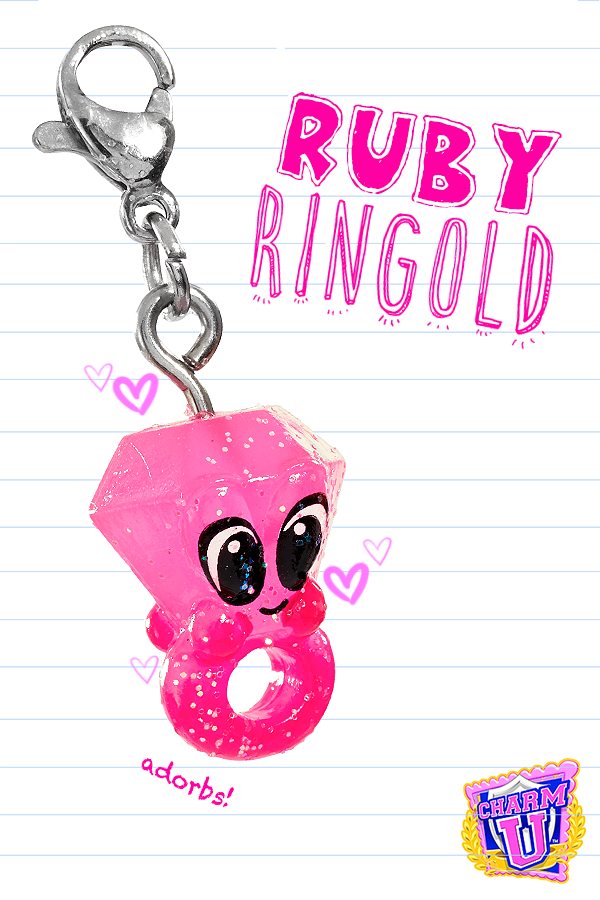 5fa332ec6 Meet Ruby Ringold! A special rare glitter edition Charm U charm ...
