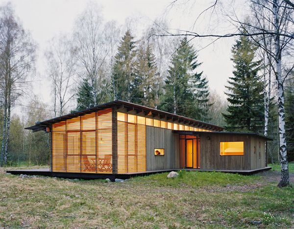 Summer Cabin Design - Award-Winning Wood House By Wrb | Summer