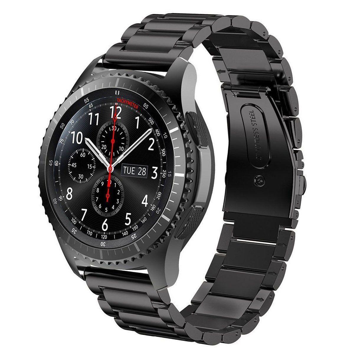 The Boss Stainless Steel Metal Watch Band Gear S3 Frontier Metal Watch Bands Watch Bands Stainless Steel Watch