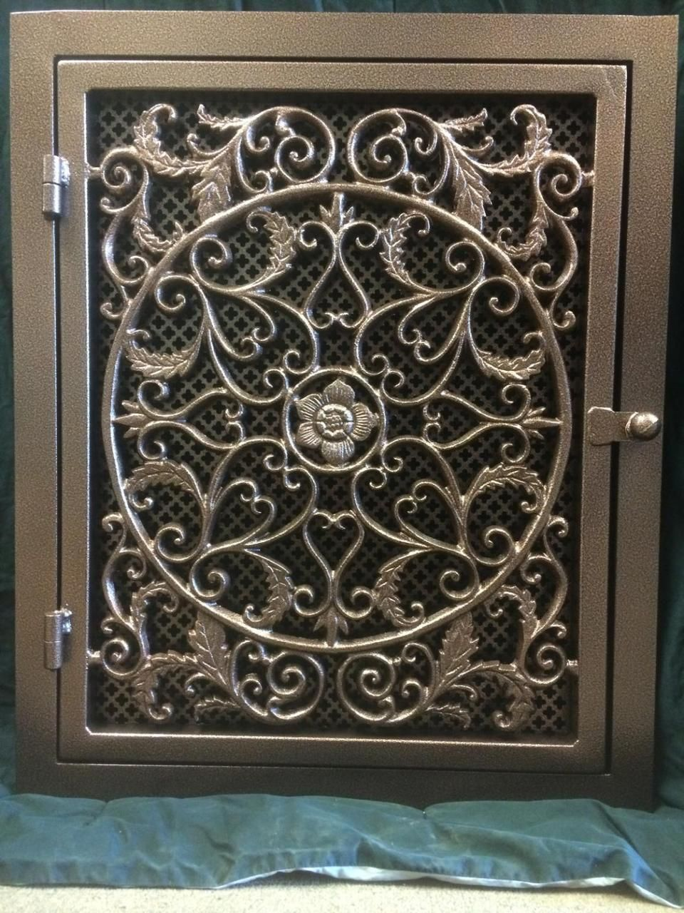 Tuscany Handmade Wrought Iron Return Air Filter Frame In 2019