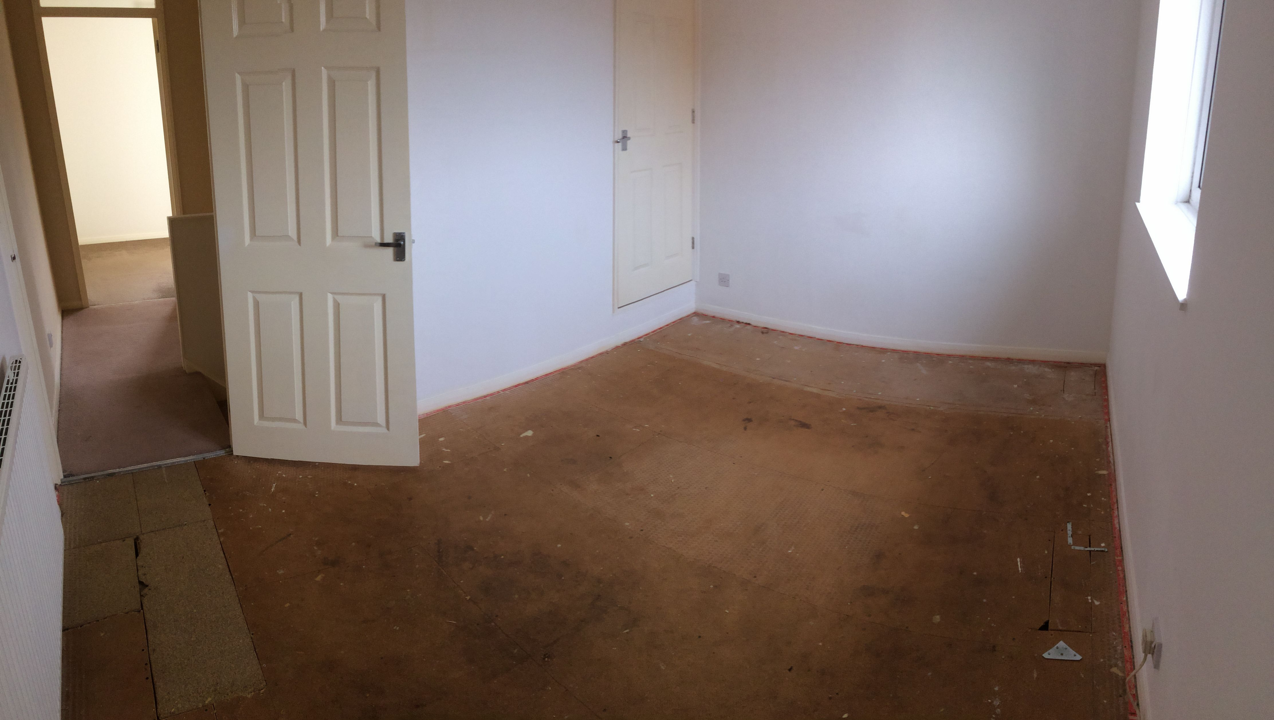 Main Bedroom- Carpet and underlay removed | Bedroom carpet ...
