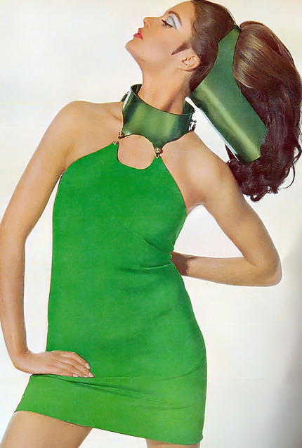 60s space age dress
