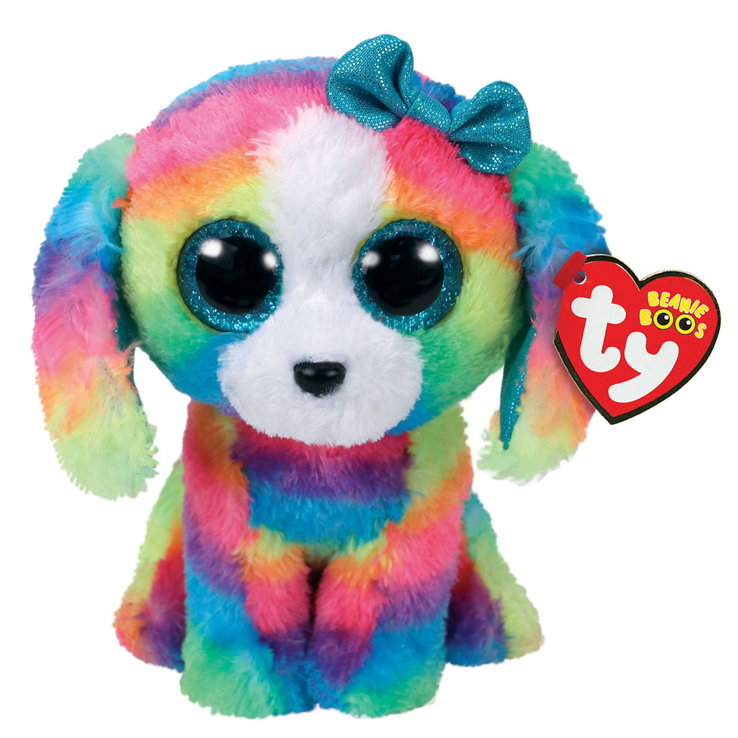 Claire's Ty Beanie Boo Medium Lola the Dog Plush Toy Ty