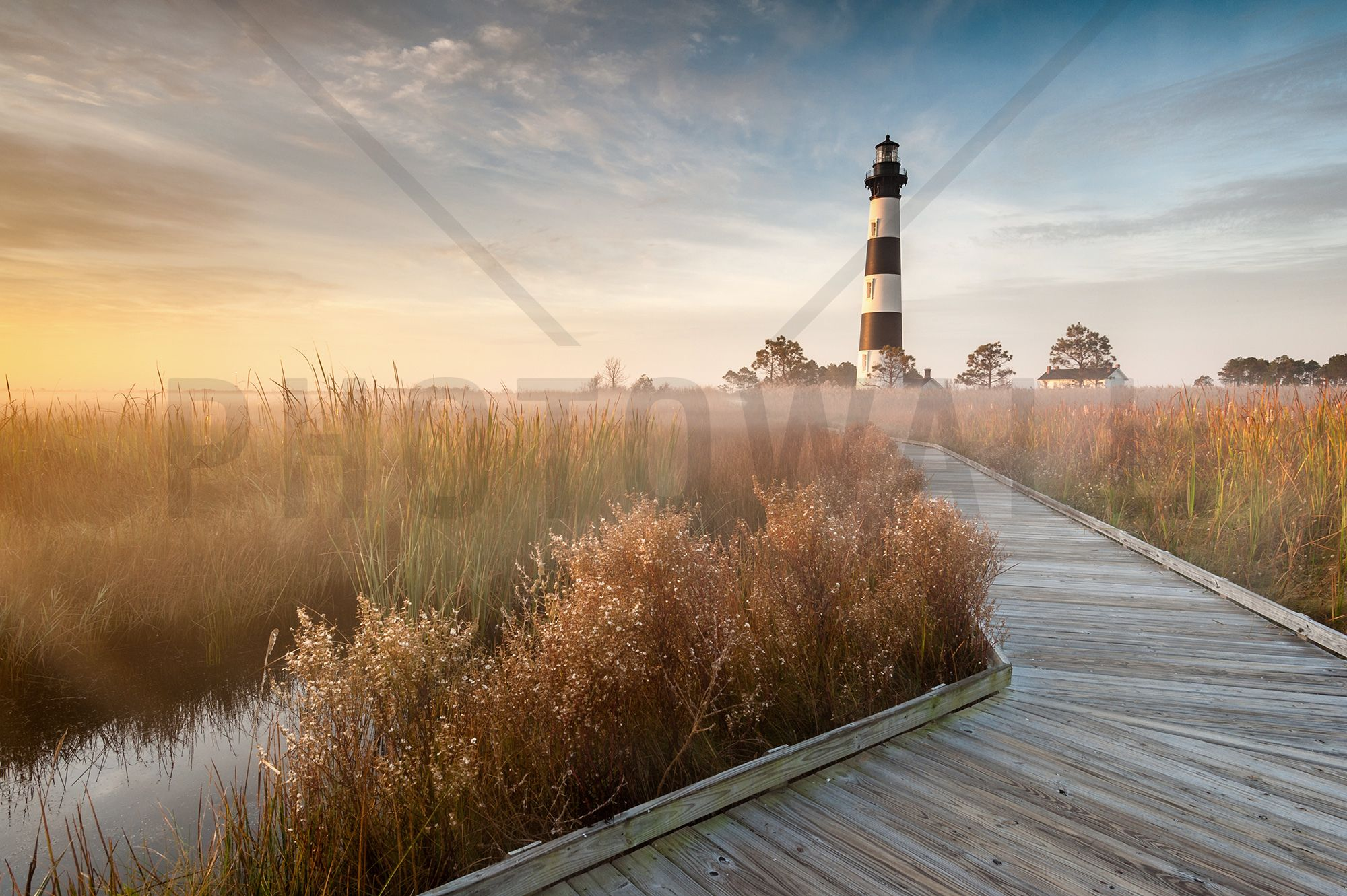 Lighthouse in North Carolina - Fototapeter & Tapeter - Photowall