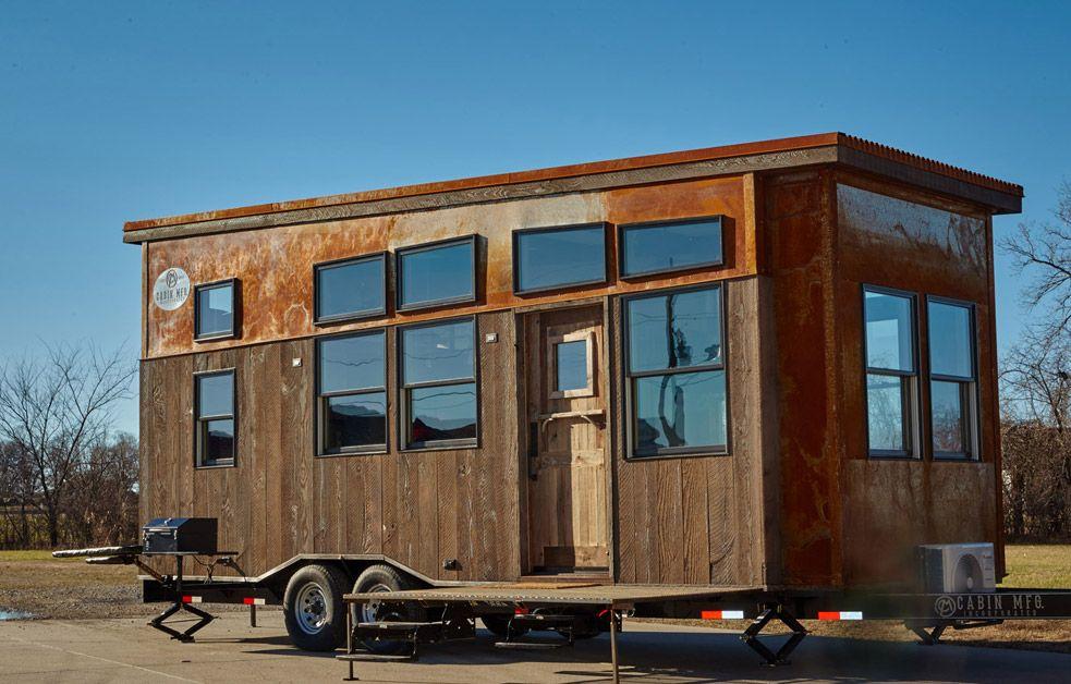 Bushwackercabin A Square Feet Tiny House On Wheels Built By - Dakota tiny house on wheels