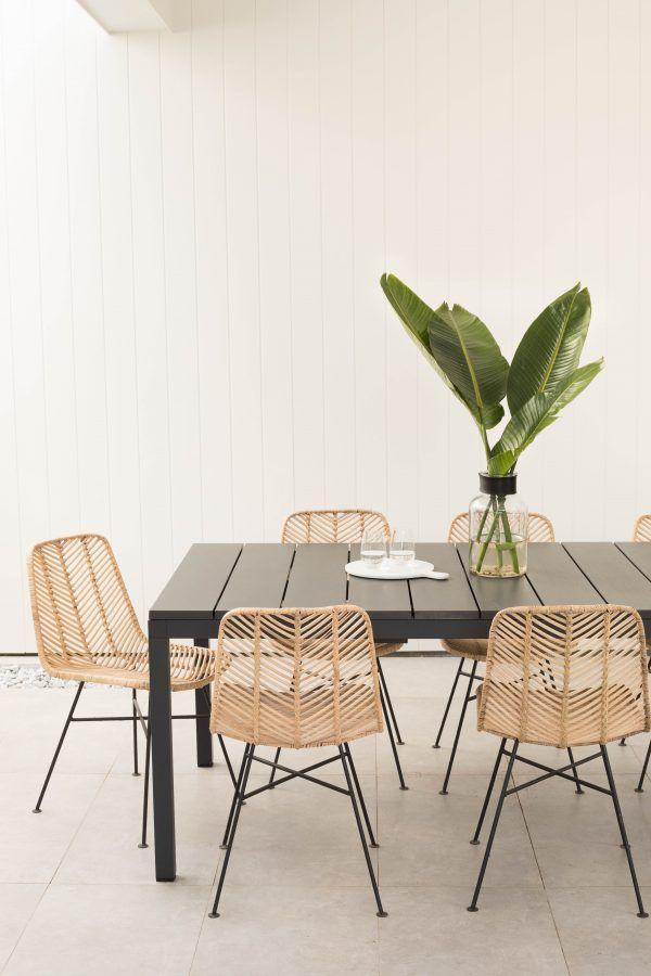 LOFT Vee Rattan Dining Chair