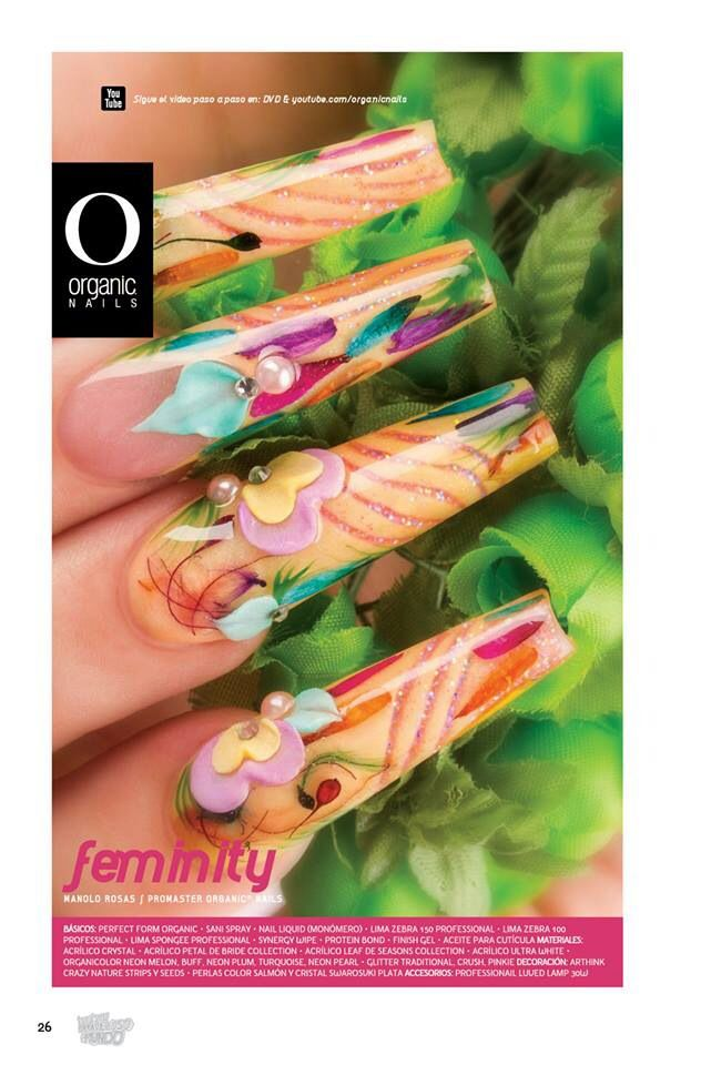 Manolo Rosas/ ProMaster Organic® Nails | Organic® Nails... Da Lo ...