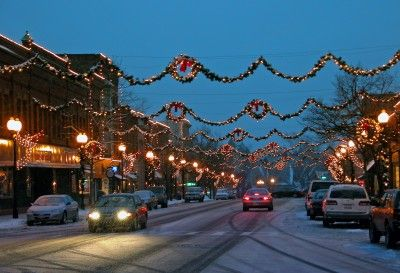 Christmas Things To Do In Upstate Ny 2020 Pin by Lauren Stein on Holiday Falls in 2020 | Christmas town