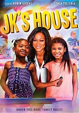 """[""""Centered on JK, a precocious, six-year-old, Louisiana girl; her teen-aged big sister; their single mother; and her pint-sized pals, JK's House entertains while blending family values and life lessons with music and dance.""""] $15.99"""