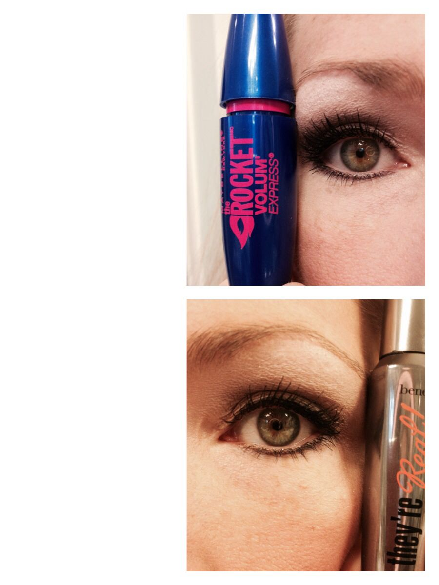 c5facf13c5b Benefit yes they're real mascara dupe! I think I actually like the  maybelline better!