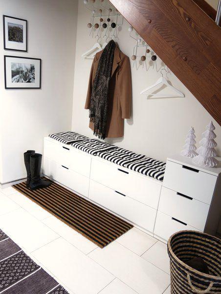 ja ich habe geschummelt home style flurgarderobe flure und garderobe ikea. Black Bedroom Furniture Sets. Home Design Ideas