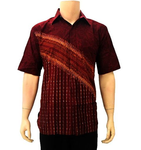 90 Model Baju Batik Semi Sutra Baju Batik Muslim Baju