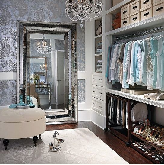How to Turn your Closet into a Celebrity Style Dressing Room (part ...