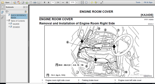 Nissan Zd30dd Ka24de Engine Workshop Repair Manual Hey Downloads In 2020 Repair Manuals Repair Engineering