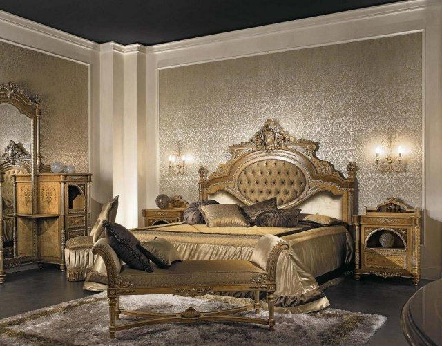 chambre baroque d co baroque dans la chambre coucher costumes danse bollywood chambre. Black Bedroom Furniture Sets. Home Design Ideas