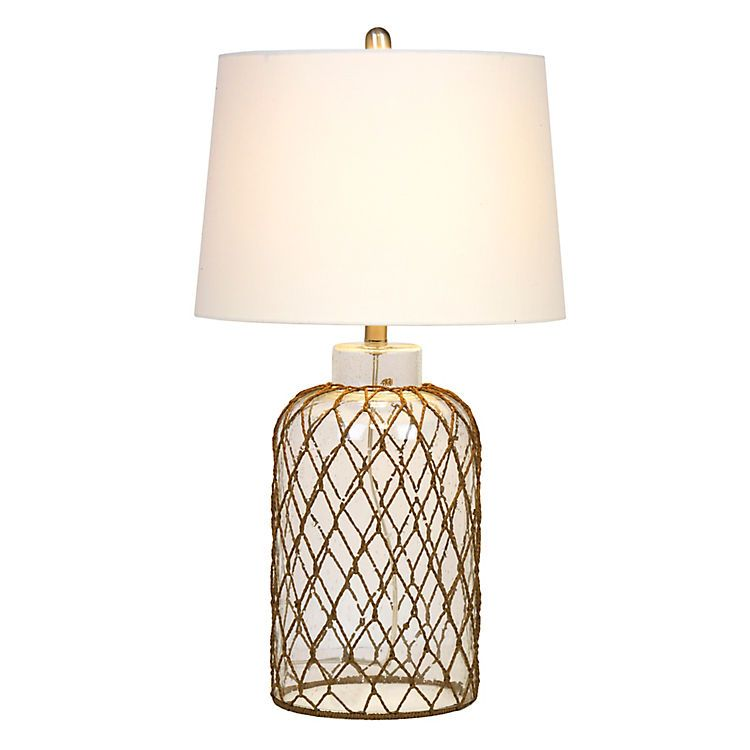 Netted Glass Table Lamp Lamp Glass Table Glass Table Lamp