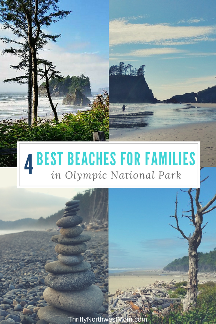the 4 best olympic national park beaches for families | hiking and