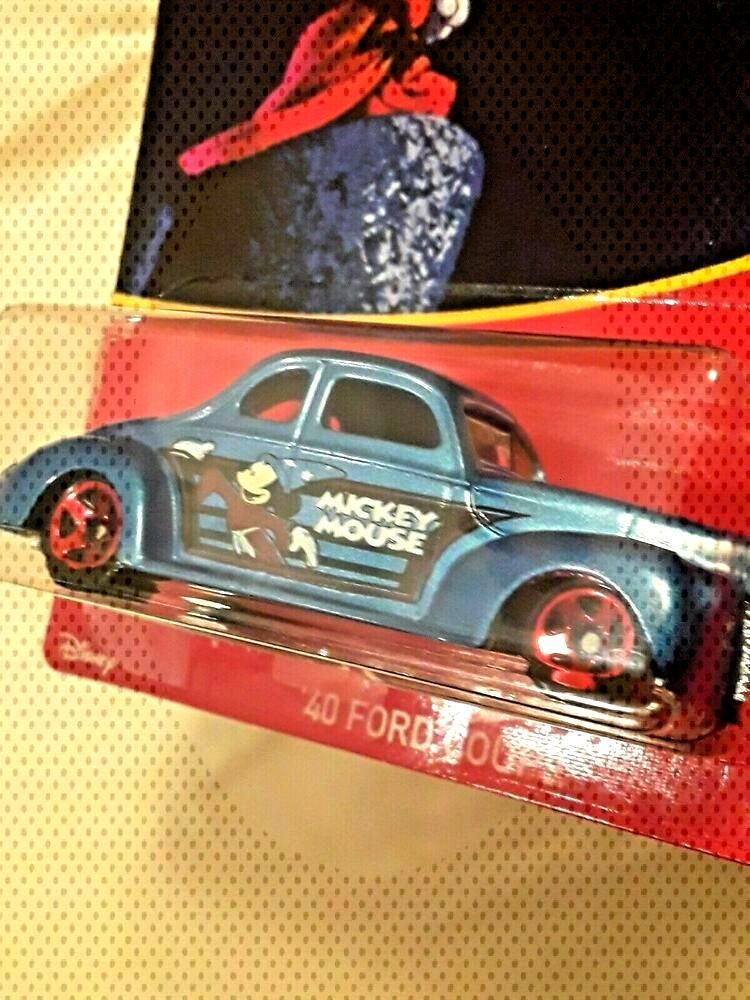 2018 Hot Wheels '40 Ford Coup Disney - Mickey Mouse Wal-Mart Exclusive