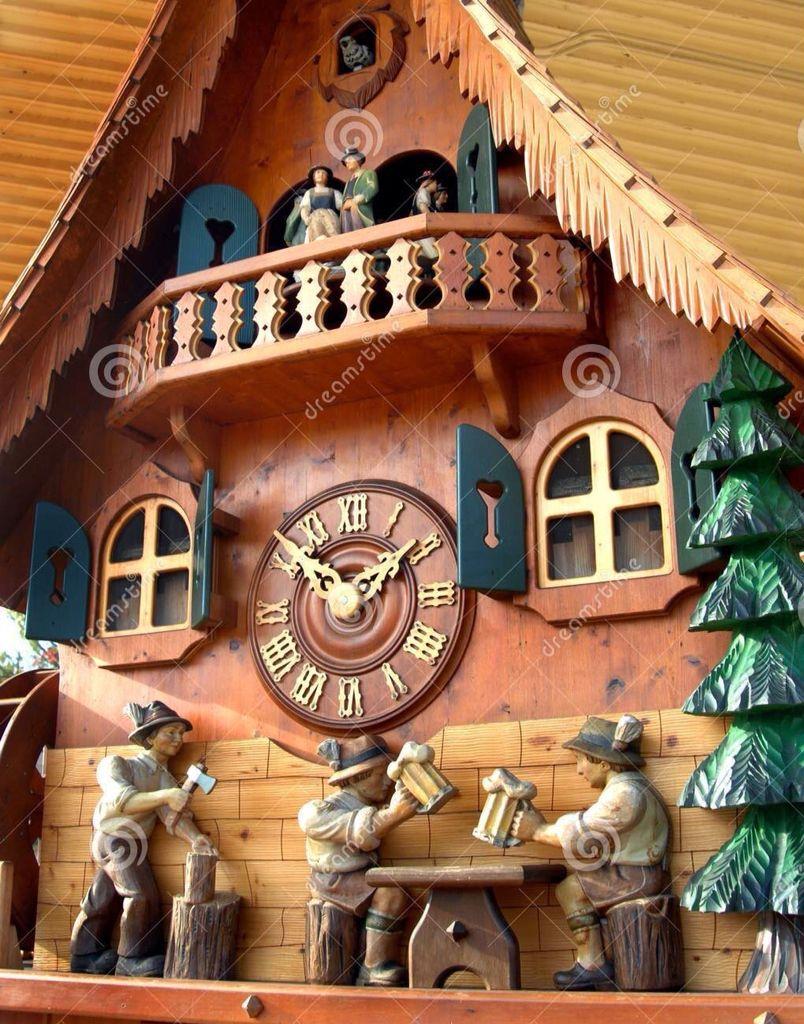Reloj De Cuco Relojes De Pared Antiguos Reloj De Cuco Selva Negra Alemania