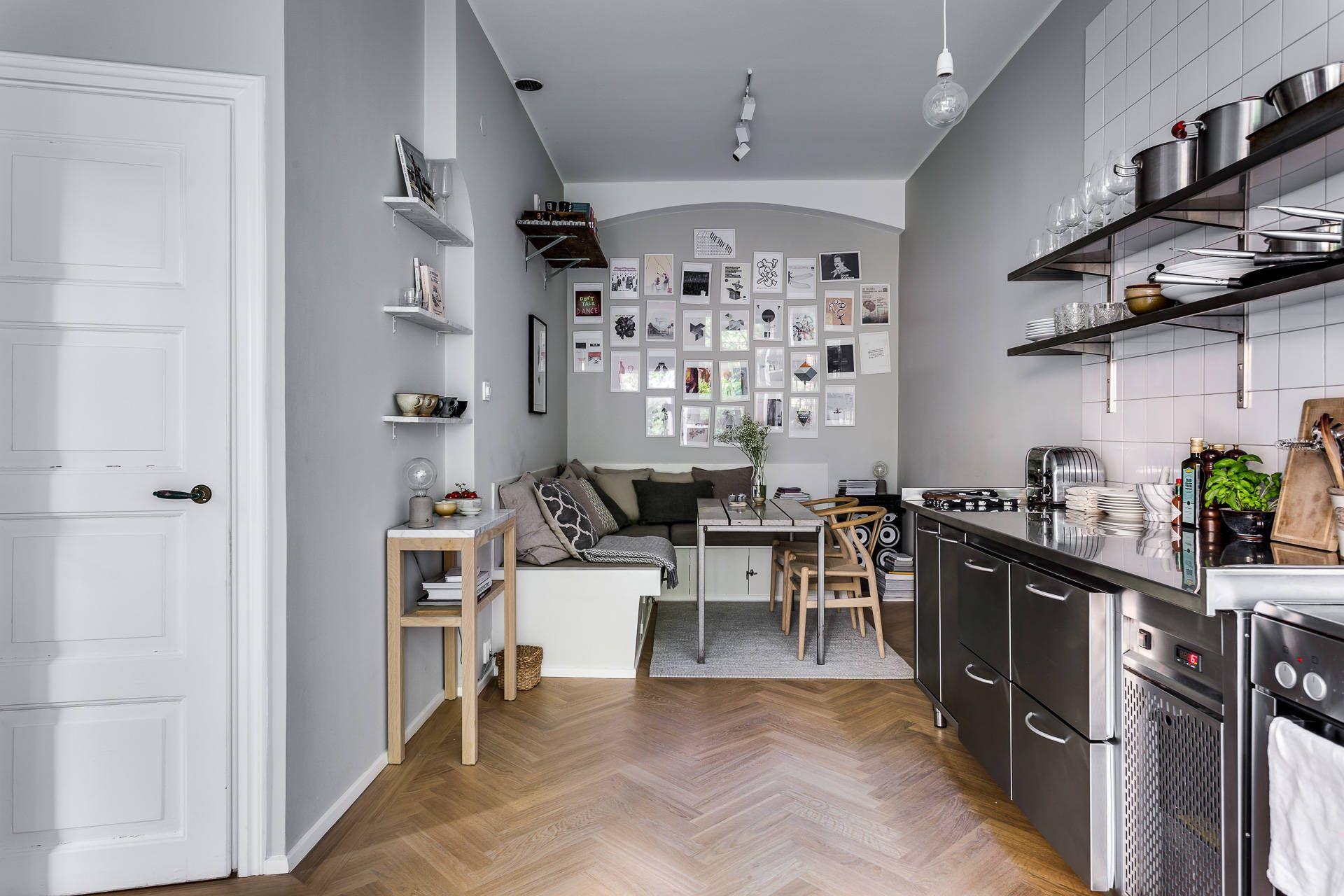 White Keuken Stoere : Stoere keuken met gezellige eethoek woonkamer interiors and kitchens