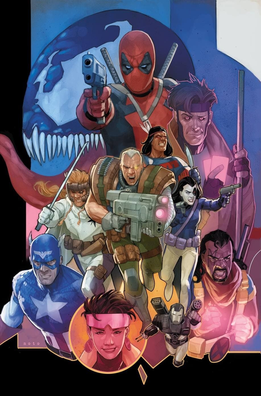 Marvel Now! New Bagged ALL-NEW CAPTAIN AMERICA #5