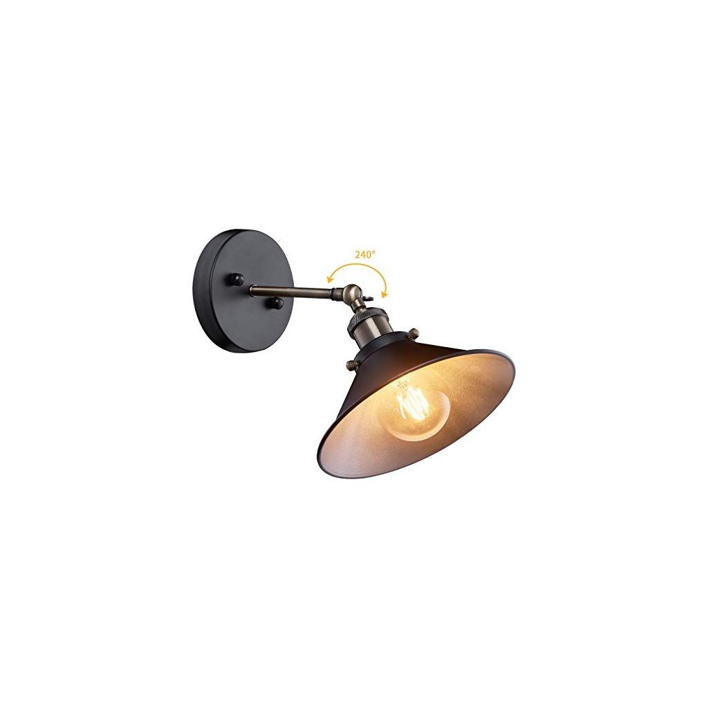 Industrial Wall Sconce Mini Adjustable Vintage Edison Simplicity Wall Lamp Loft Style Swin Vintage Industrial Wall Light Industrial Wall Industrial Wall Sconce