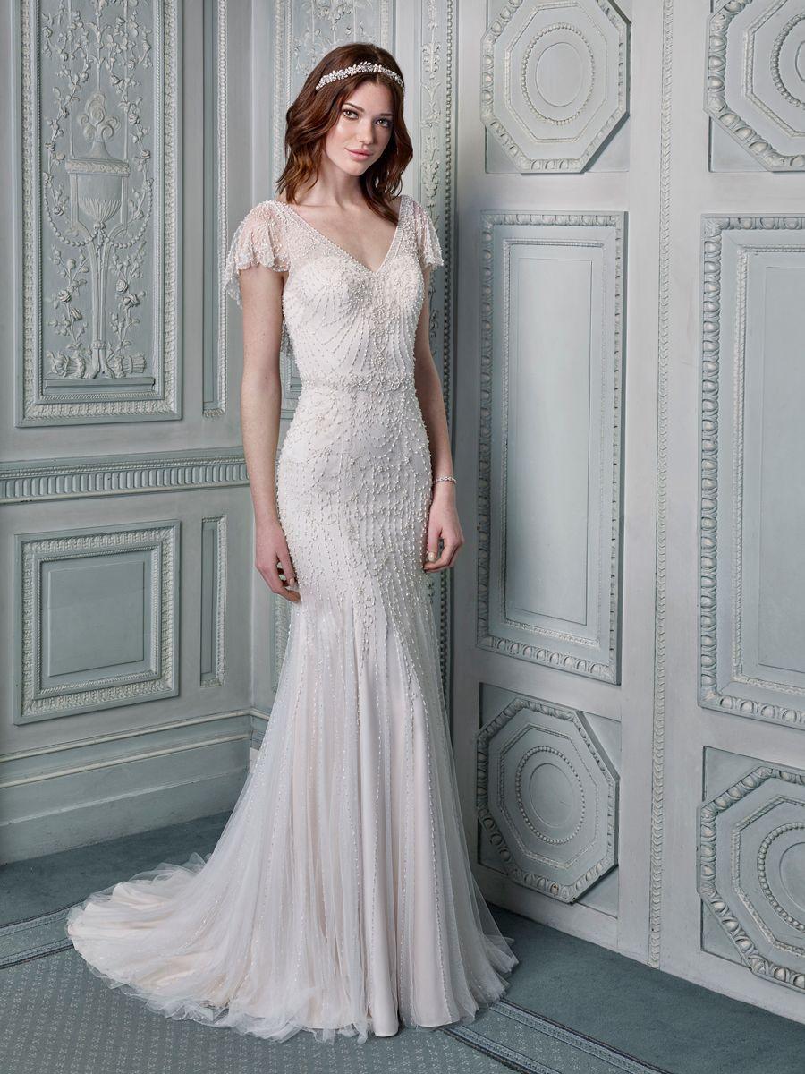 wedding dresses for older brides Vintage style