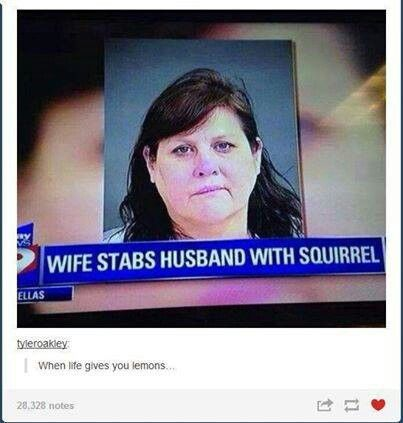 Anything is possible. So dont make me shank u with a squirrel!!