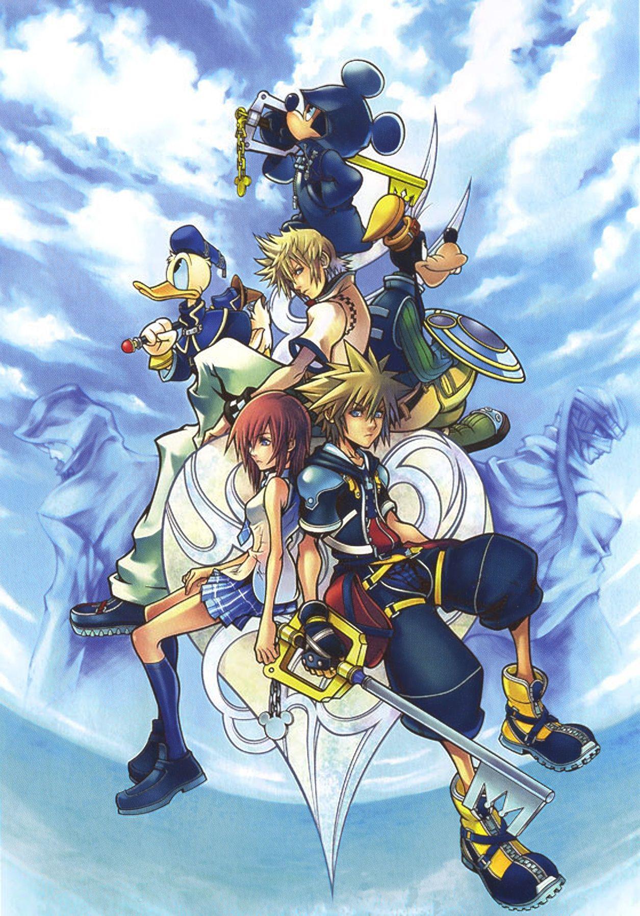 Kingdom Hearts Ii Kingdom Hearts Wallpaper Kingdom Hearts Ii Kingdom Hearts