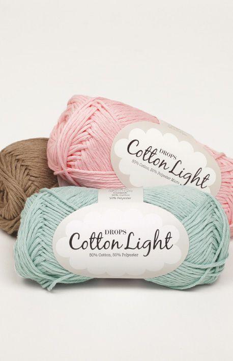 Drops cotton light | Grupo de, El verano y Lana