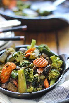 Hibachi Vegetables Recipe Food Recipes Grilled Vegetables