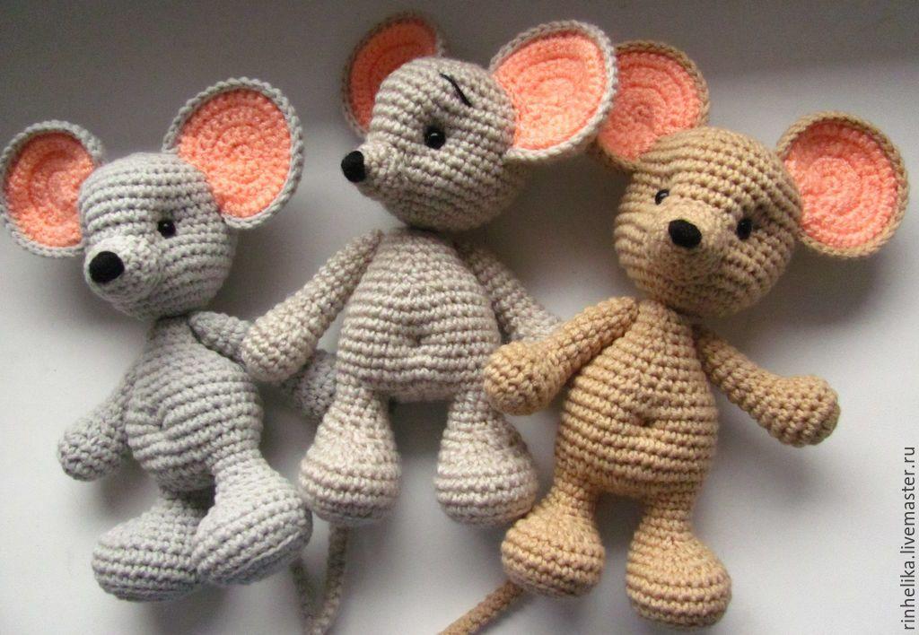 схема мышка крючком