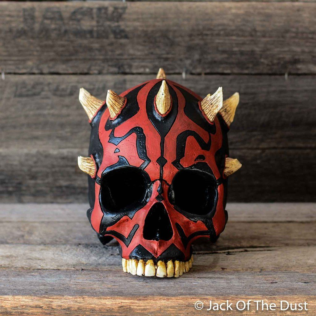 0a3dd05abf7 Darth maul skull - limited edition - jack of the dust Skull Mold