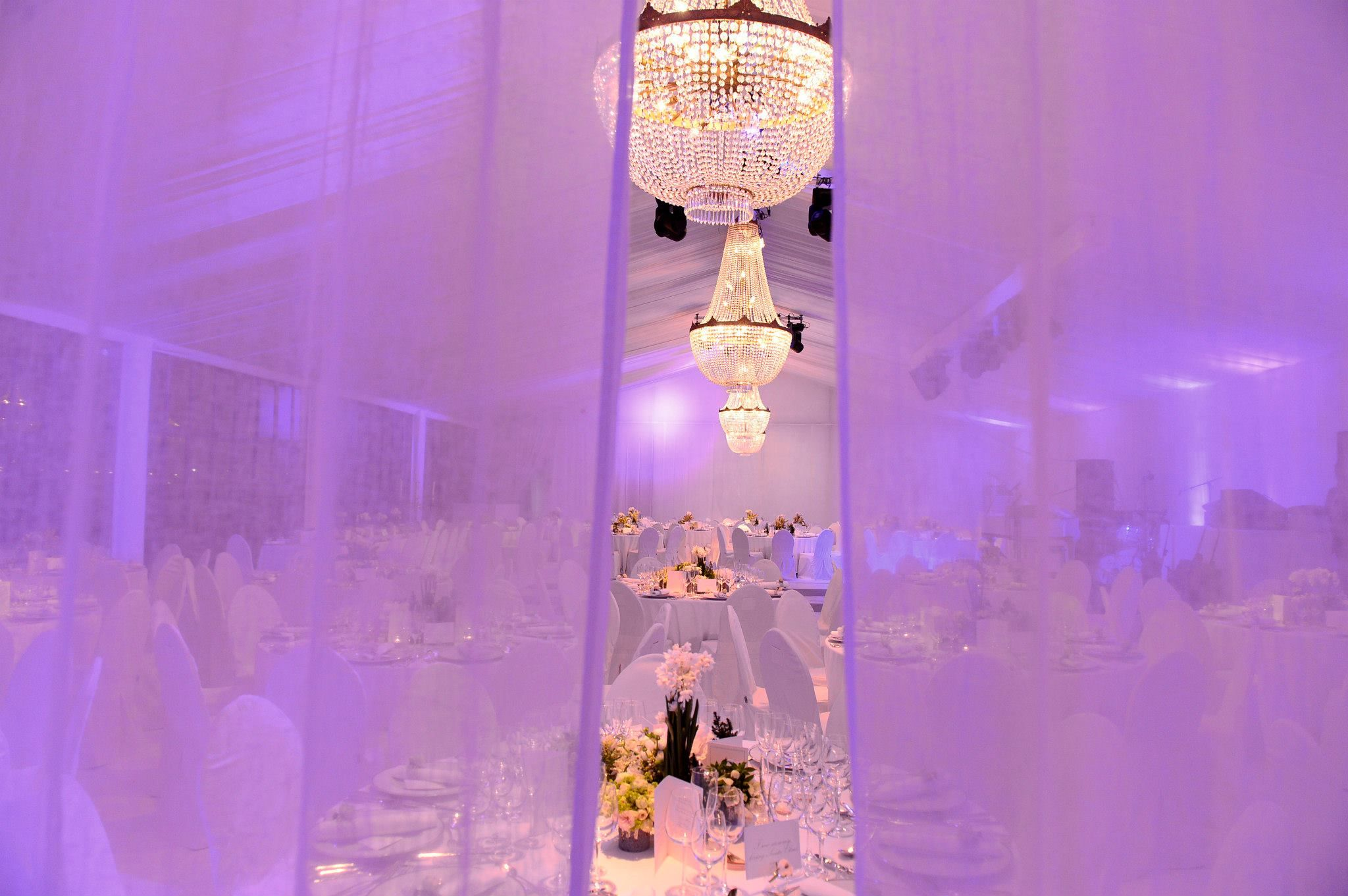 Real crystal chandeliers for a wedding party decoration wedding