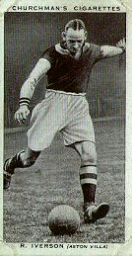 Bob Iverson of Aston Villa in 1938.  23b3d832b5a