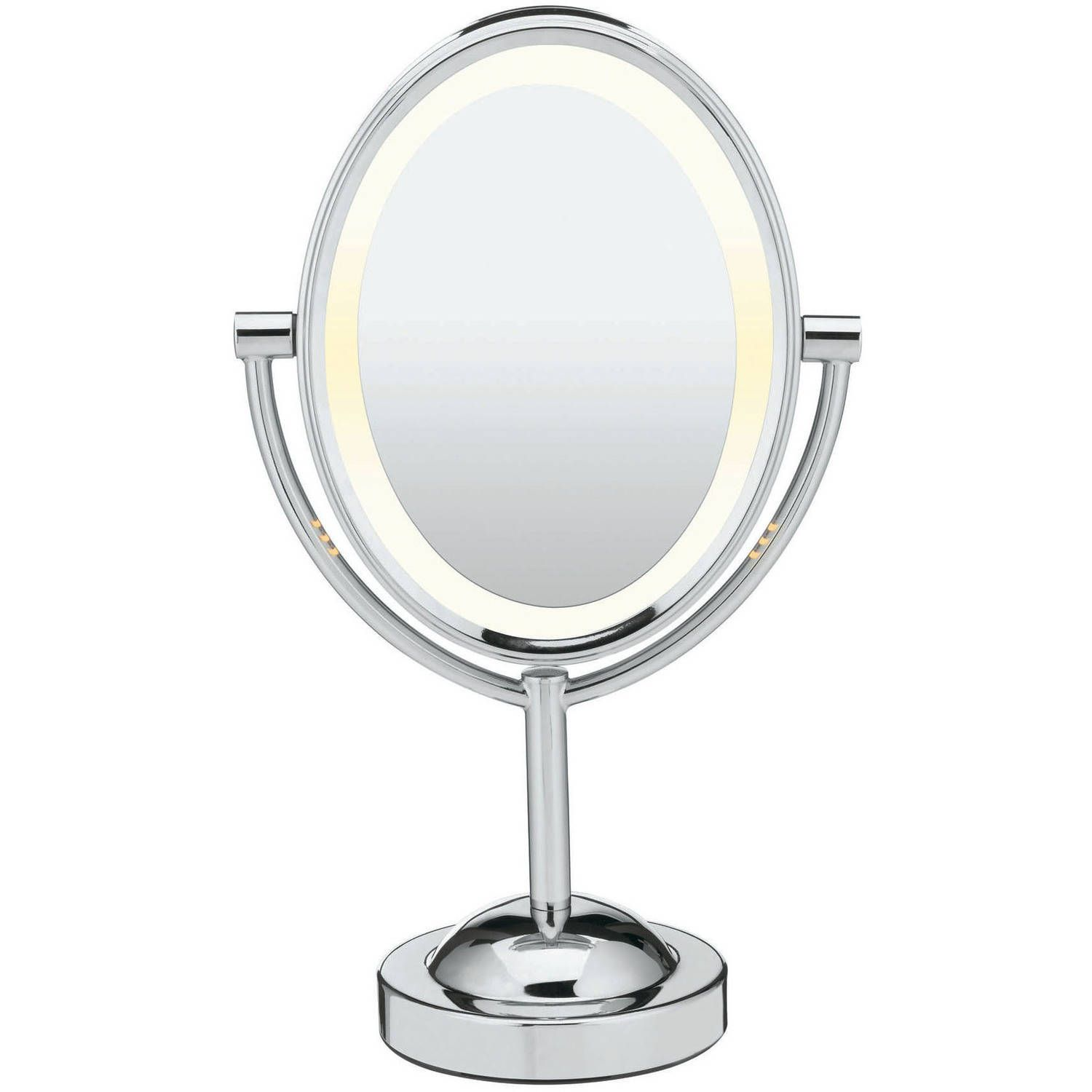 Beauty Makeup Mirror With Lights Double Sided Mirror Oval Mirror