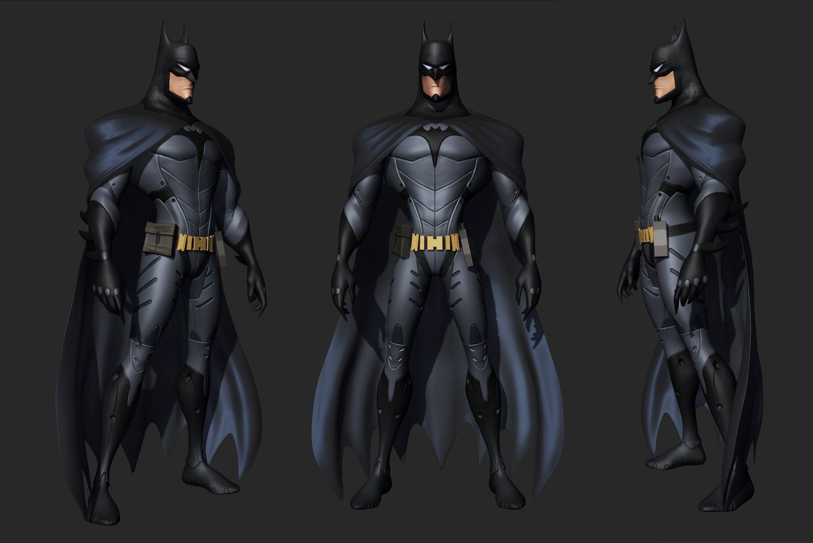 Batman Sculpt Based on Amazing concept by D.Arya, Ashish Parashar on ArtStation at http://www.artstation.com/artwork/batman-sculpt-based-on-amazing-concept-by-d-arya-b114f287-8f0e-4dc3-accf-ae3d0d2fd78b