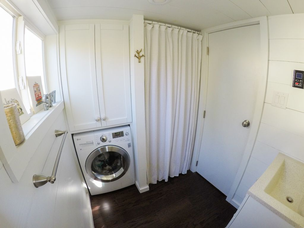 san francisco tiny house i like the idea of the washerdryer in the - Tiny House Washer Dryer