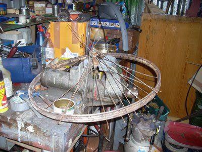 Puskapyöräprojekti: syyskuu 2008