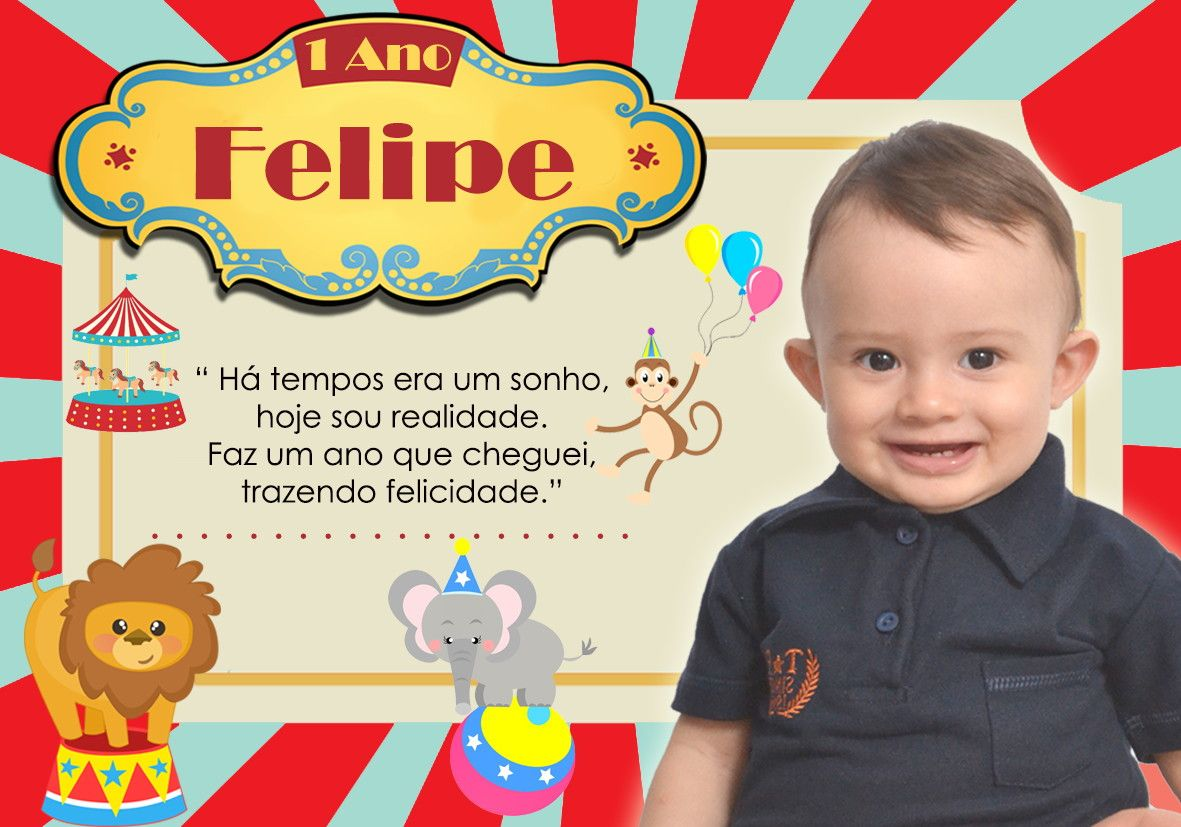 Pin Em Festa Convites Marcadores Placards