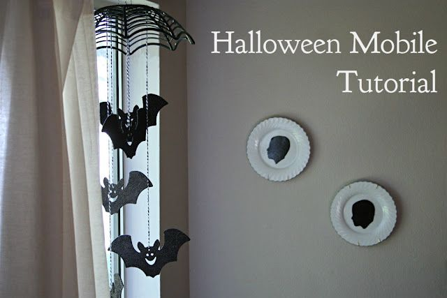 The Gingerbread Blog: A Batty Halloween Mobile Tutorial