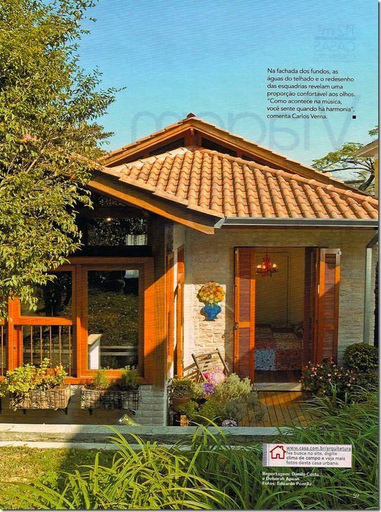 Fachada de casa rustica construcciones r sticas - Fachada de casas rusticas ...