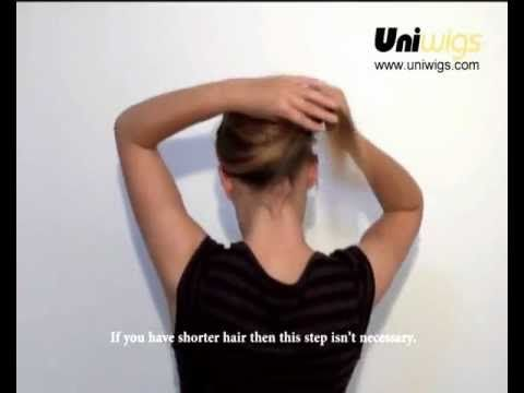 How to apply a wig