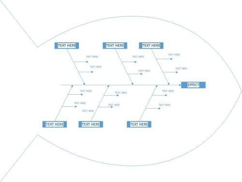 fishbone diagram template visio   Free Fishbone Diagram