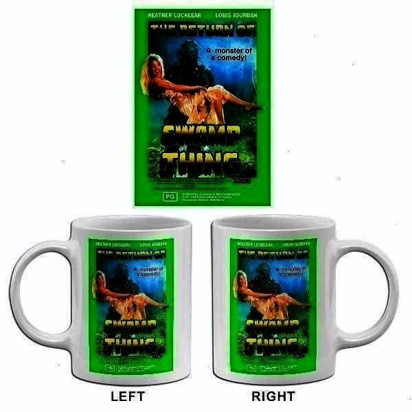 1989  Movie Poster Mug The Return Of Sw The Return Of Swamp Thing  1989  Movie Poster Mug The Return Of Swamp Thing  1The Return Of Swamp Thing  1989  Movie Poster Mug T...
