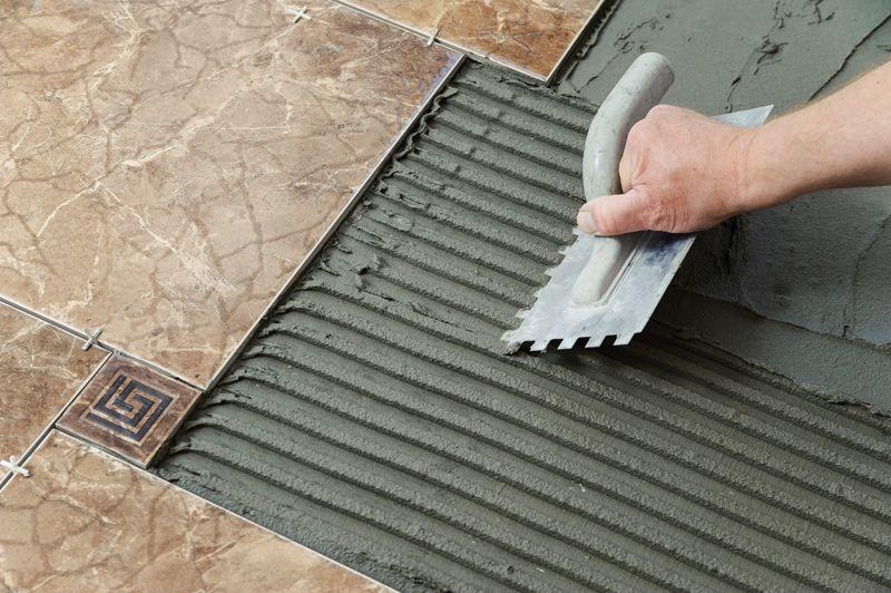 How To Install A Tile Floor Tile Floor Diy Diy Flooring Tile Installation