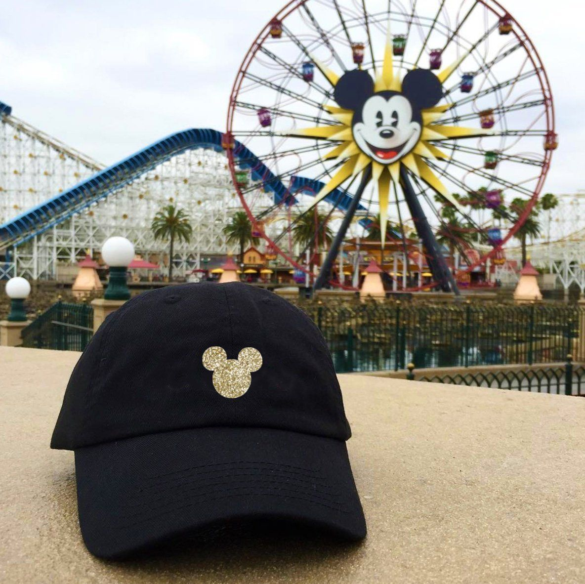 5f70463aa Disney Mickey dad hats - family Disney caps - Minnie dad hat ...