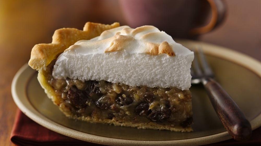 Sour Cream Raisin Pie Recipe Sour Cream Raisin Pie Raisin Pie Raisin Pie Recipe
